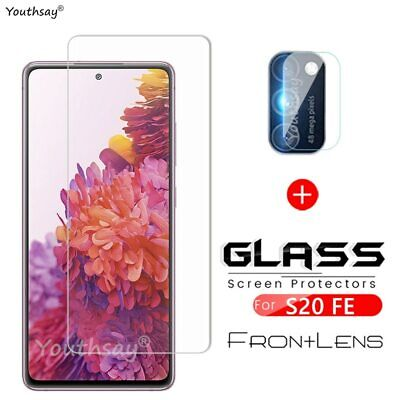 £4.69 • Buy 2PCS For Samsung Galaxy S20 FE Glass Phone Screen Film Protector Tempered Glass