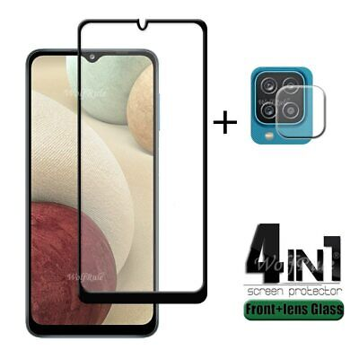 £6.57 • Buy 4-in-1 For Samsung Galaxy A12 Glass For Samsung A12 Tempered Glass For Samsung