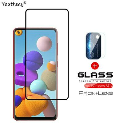 £4.69 • Buy For Samsung Galaxy A12 Glass Screen Camera Protector Film Glass For Samsung A12