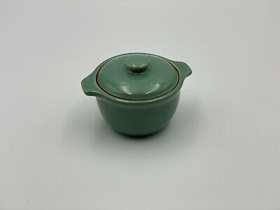 £9.95 • Buy Denby Small Casserole Dish Or Soup Bowl With Lid & Handles Manor Green