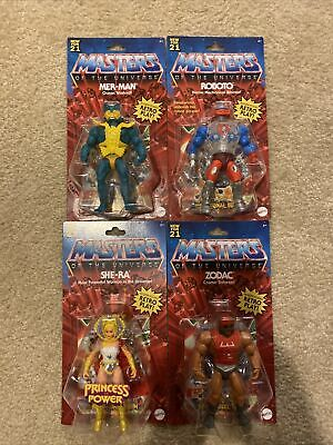 $139.99 • Buy *SHIPS FREE TODAY!* Masters Of The Universe Motu Wave 3 Complete Set New For 21