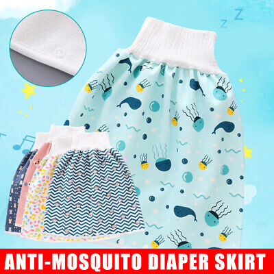 AU14.98 • Buy Comfy Childrens Diaper Skirt Shorts 2 In1 Absorbent Training Waterproof Shorts