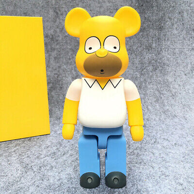 $39.99 • Buy 400% Be@rbrick Bearbrick Cosplay The Simpsons Farther Action Figure Fahion Toys