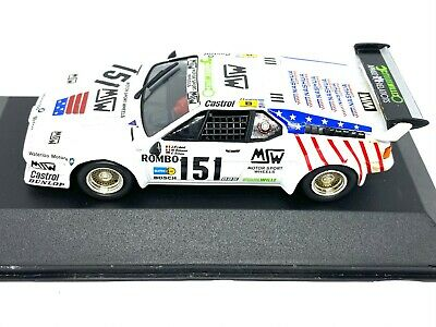 £16.99 • Buy 1:43 Scale Quartzo BMW M1 Sports Car Model As Raced At Le Mans In 1985 BMW Model