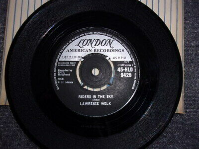 Rare Lawrence Welk/ Riders In  The Sky Original London Label/ 1961/ex Condition • 19.99£