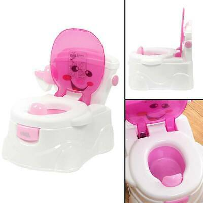 2 In 1 Kids Baby Toilet Seats Portables Toddler Training Safety Potty Trainer UK • 14.99£