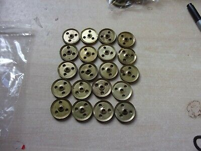 Meccano 24 Metal 1  Pulleys Without Boss- Part 22a - (lot1) • 10£