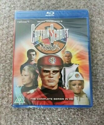 Captain Scarlet: The Complete Series (Blu-ray) • 24.99£