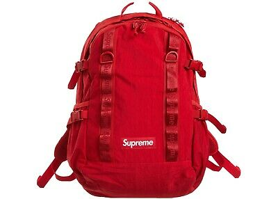$ CDN303.72 • Buy Supreme Canvas Bag Dark Red Fw20 Brand New With Proof Of Purchase And Tags
