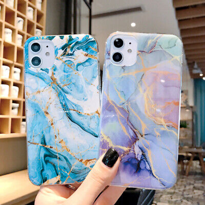 AU5.23 • Buy Colorful Marble Phone Case For IPhone 11 Pro Max X XR XS Max 6 6s 7 8 Plus Cover