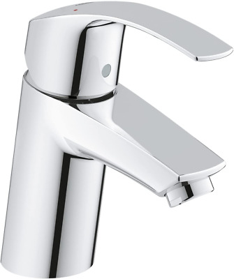 GROHE 3246720L Eurosmart Basin Tap With Smooth Tap Body, Universal Pressure (Sui • 76.71£