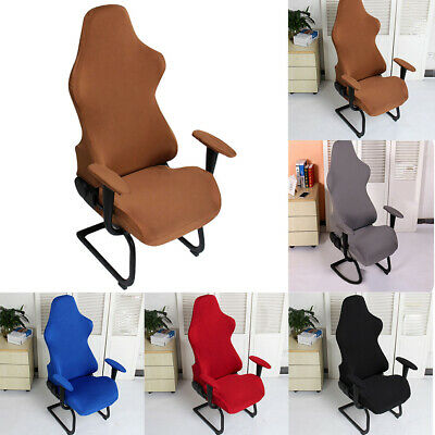 AU24.15 • Buy Spandex Chair Cover Computer Seats Gaming Elastic Office Armchairs Protector AU