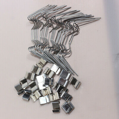 Clips For Greenhouse Glazing Clips W Glass Panel Clips Spring Wire 30pcs • 4.74£