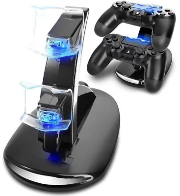 AU19.31 • Buy PS4 Accessories Dual Micro USB Charger Dock | Charging Station | PlayStation