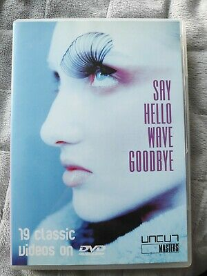 £6.99 • Buy Say Hello, Wave Goodbye DVD 1980's Frankie Relax Two Tribes Tears For Fears