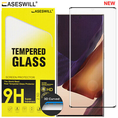 $ CDN6.32 • Buy Samsung Galaxy S21 S20 Note 20 Ultra [Full-Glue] Tempered Glass Screen Protector