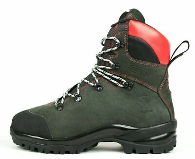 Oregon 295469 Leather Chainsaw Boots Oil & Water Resistant Class 2 • 135£