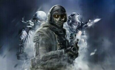 £19.99 • Buy Call Of Duty Ghost 20x30INCHES Wall Art Canvas UK Seller Free Post Limited Stock