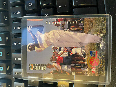 $136 • Buy Michael Jordan - 1994-95 Upper Deck Collectors Choice Pro Files Golf Card #204