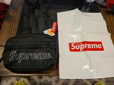 $ CDN140.35 • Buy Supreme Shoulder Bag Black 3M Reflective FW18 Box Logo New Fast, Free Shipping