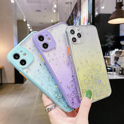 AU11.99 • Buy Glitter Shining Bling TPU Jelly Gel Case Cover For IPhone 12 Pro Max 12 Mini 11