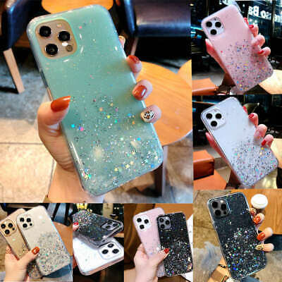 AU9.99 • Buy Case For IPhone 12 Pro 11 Pro Max Xs X 8 Gel Glitter Cover Clear Shockproof Case