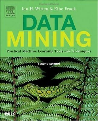 $4.38 • Buy Data Mining : Practical Machine Learning Tools And Techniques