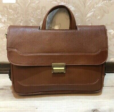 New Handmade Sheepskin Briefcase/Bag • 30£
