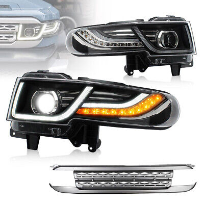 AU499.99 • Buy LED DRL Head Lights And Grille For 2011-2016 Toyota FJ Cruiser With Sequential