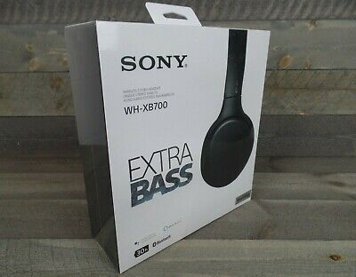 AU103.15 • Buy Sony Wireless Bluetooth Headphones Extra Bass On-Ear - Black - NEW - SHIPS FAST