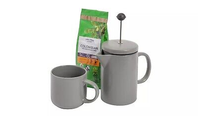 Cafetiere & Coffee Gift Set • 19.99£