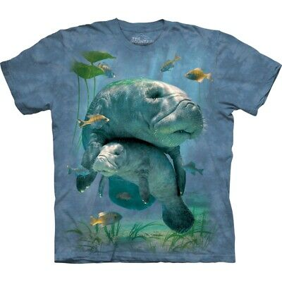 £26.99 • Buy MANATEES COLLAGE The Mountain T Shirt Adult Sizes Unisex
