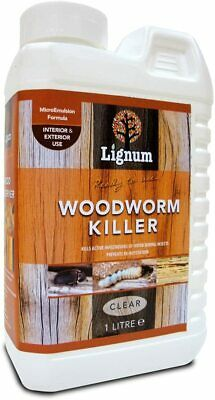 £12.49 • Buy LIGNUM Woodworm Killer Spray   Ready To Use Timber Wood Treatment Insecticide