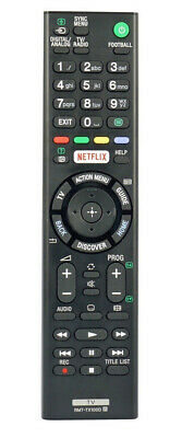 £4.95 • Buy Replacement For Sony TV Remote Control With NETFLIX Button RMT-TX100D