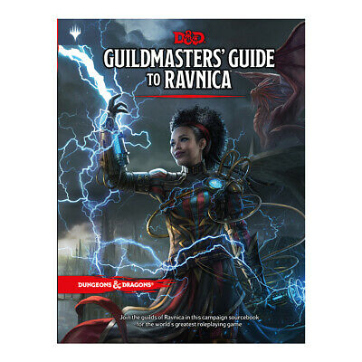 AU59.50 • Buy D&D Guildmasters' Guide To Ravnica - Hard Cover 5th Edition Book