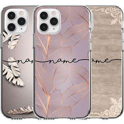 AU16.95 • Buy Silicone Cover Case Cute Personalised Name Text Birth Date Word Custom Printed