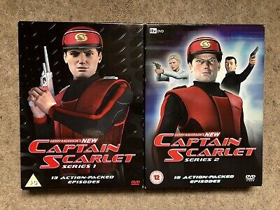 Gerry Anderson's NEW Captain Scarlet Complete Series 1 & 2 DVD Boxsets • 19.99£