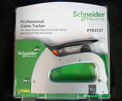 £27.70 • Buy Schneider Pro Cable Tacker Stapler Durable Steel Construction + Staples Options