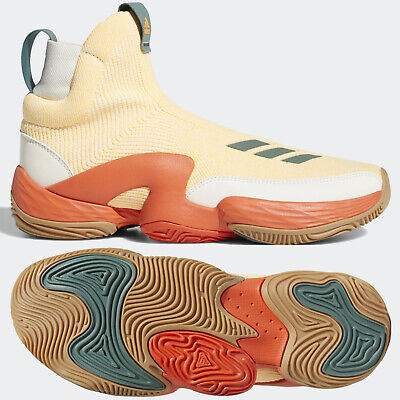 AU108.56 • Buy Adidas N3XT L3V3L 2020 Chalk White / Solar Gold Basketball Shoes Size 9.5 FW8576