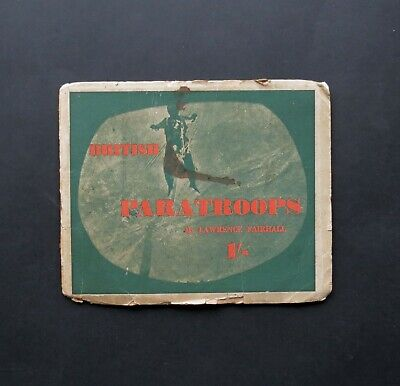 Rare WW2 Book – 'British Paratroops' By Lawrence Fairhall. C.1943 • 12.50£