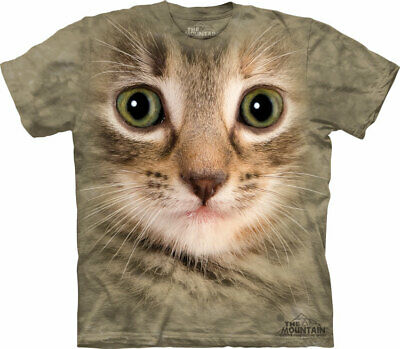 £23.99 • Buy KITTEN FACE The Mountain T Shirt Cat Unisex
