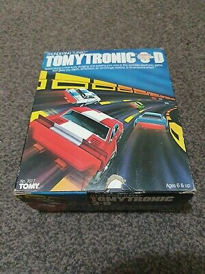 Vintage Thundering Turbo Tomytronic 3D Hand Held Electronic Game By Tomy... • 195£