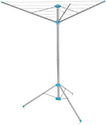 Minky Freestanding Indoor/Outdoor Airer With 15 M Drying Space, Metal, Silver • 27.55£