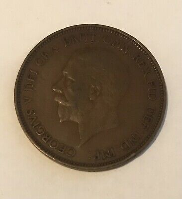 £800 • Buy 1936 George V One Penny Coin