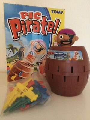 £6.50 • Buy Large Pop Up Pirate Barrel Kids Classic Action Board Game Complete