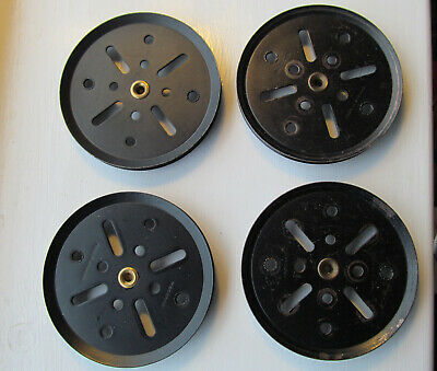 Meccano - 3 Inch Pulleys X4 Part 19b Good Condition • 3.50£