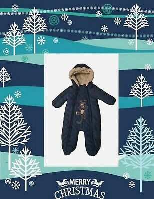 £15 • Buy Disney Store Baby Winter Tigger Snowsuit All-in-one Pramsuit Age 12-18 Months