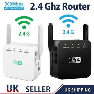 300Mbps Wifi Extender Dual-Band Repeater Wireless Router Range Signal Booster UK • 12.59£