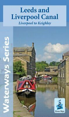 £8.76 • Buy Leeds And Liverpool Canal - Liverpool To Keighley (Waterwa By Heron Maps New Map