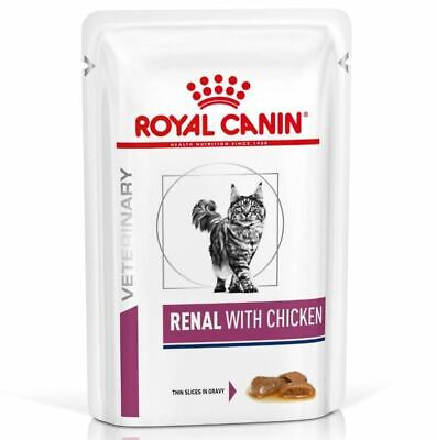 Royal Canin Renal VHN Cat Food Wet Chicken 48 X 85g Pouches • 40.52£